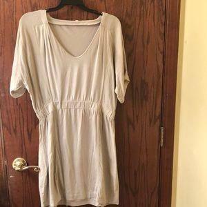 J Crew Short Sleeve Dress—Size L